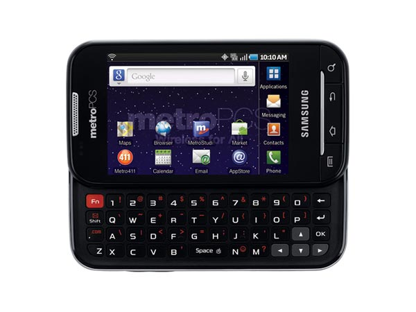 Samsung Galaxy Indulge - the first 4G LTE smartphone in ...