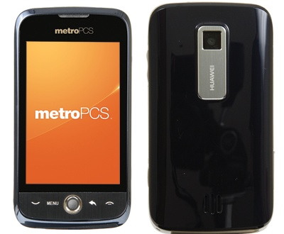 Metro PCS Huawei Ascend - entry-level Android smartphone