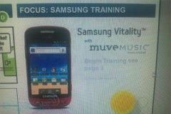 Samsung Vitality with Muve Music