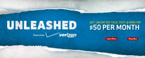 Verizon Unleashed $50 unlimited