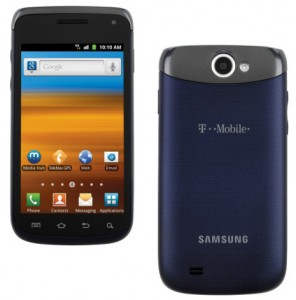 Samsung Exhibit II 4G prepaid for T-Mobile