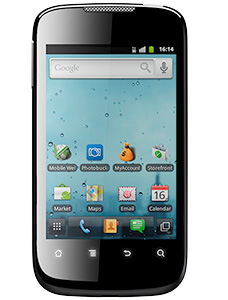 Huawei Ascend II with Muve Music