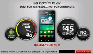 Straight Talk announces LG Optimus 2X as its first 4G LTE Android