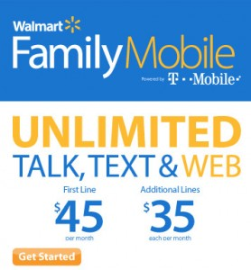 , for those who sign up to Walmart and T-Mobile Family Mobile plan