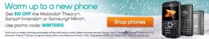 Boost Mobile promo code WINTER10 takes $10 off of selected phones