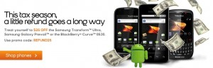Boost Mobile promo code REFUND25 takes $25 off select smartphones