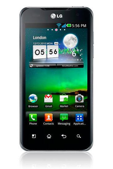 Straight Talk cancelled the launch of the LG Optimus 2X