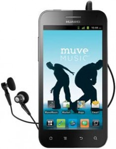 Cricket Huawei Mercury gets Muve Music service