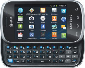 AT&T GoPhone adds Samsung Galaxy Appeal with QWERTY slide out keyboard
