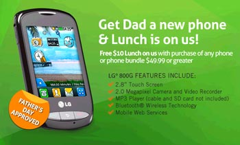 Free Gift Card from TracFone, Net10 and Straight Talk until June 17
