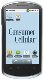 Consumer Cellular includes Huawei 8800 to its Android lineup