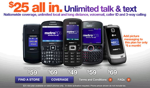 Metropcs 25 Unlimited Talk And Text Plan Is Back