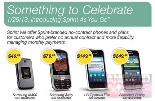 Sprint As You Go prepaid brand