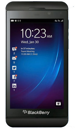 Solavei BlackBerry Z10 available now for $999