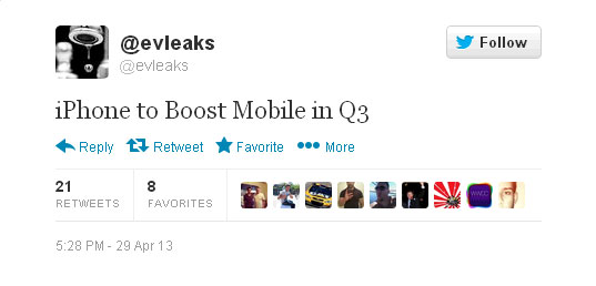 Boost Mobile iPhone reportedly to be launched in Q3 2013