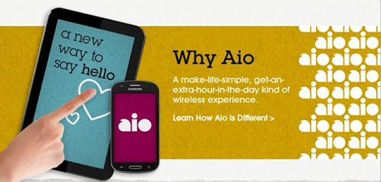AT&T launches new prepaid brand Aio Wireless