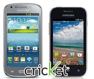 Cricket will offer Samsung Admire 2 and Galaxy Discover this summer