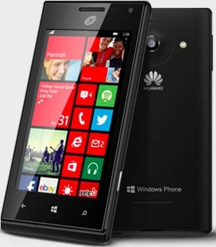 TracFone Huawei W1, Windows Phone 8 phone, in Walmart this month
