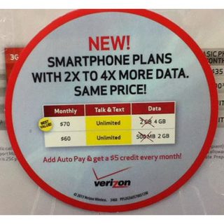 Verizon prepaid smartphone plans $5 off with Auto Pay option