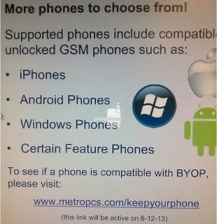 MetroPCS GSM phones and BYOP program coming on June 12