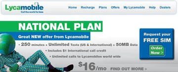 Lycamobile launches $16 National Plan, charges $7 shipping and handling SIMs