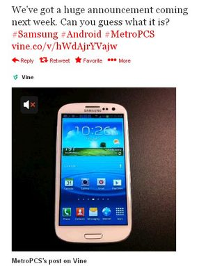 MetroPCS to announce Samsung Galaxy S4 next week