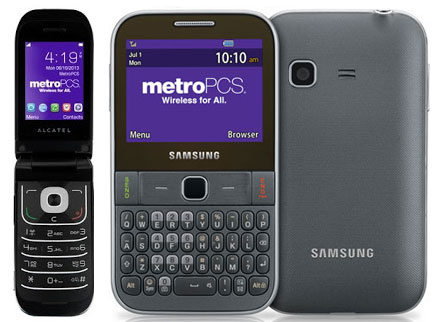 MetroPCS GSM Alcatel 768 and Freeform M available with $25 Unlimited