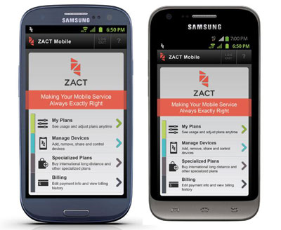Zact Samsung Galaxy S III and Samsung Victory now available