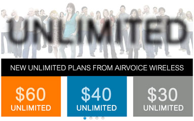 Airvoice data rates on pay as you go and improved monthly plans now reflected on the website