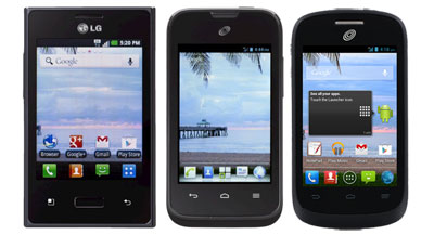 New TracFone Android Phones available now with TMFL on Verizon