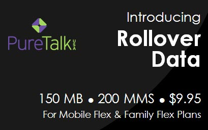 Pure TalkUSA adds data rollover to its Flex plan
