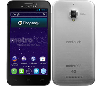 MetroPCS Alcatel One Touch Fierce added for $99.99