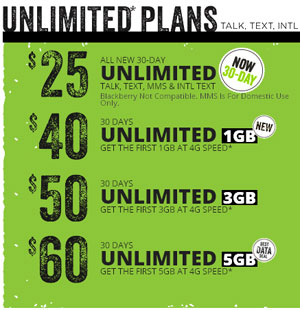 Simple Mobile $25 plan now available, other plans include more high-speed data