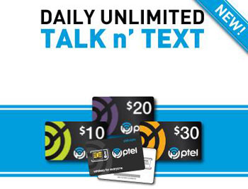 PTel Daily and $35 plan added to offering; free month promotion for new activations
