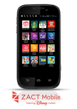 Zact ZTE Awe and kids-friendly version of it with Disney Content available now