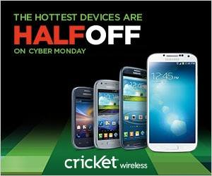 Cricket Cyber Monday 2013 deals starting today