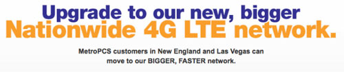 MetroPCS shutting down CDMA network in Las Vegas and New England on July 1