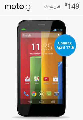 Republic Wireless Moto G arriving on April 17