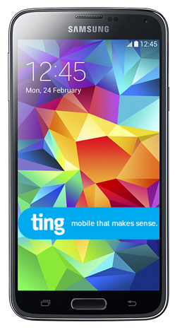 Ting Samsung Galaxy S5 available for pre-orders