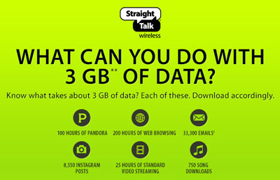 Straight Talk now offers 3GB of high speed data in unlimited plans, improves $30 All You Need Plan