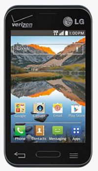 Verizon prepaid LG Optimus Zone 2 with KitKat now available for just $50