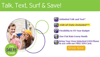 Pure TalkUSA lowers the cost of its top plan and adds unlimited MMS