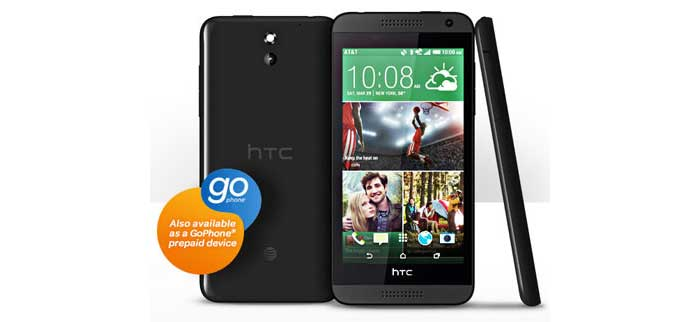 AT&T GoPhone HTC Desire 610 available on July 25 for $199.99