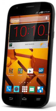 Boost Mobile ZTE Warp Sync with large 5-inch display available for $179.99