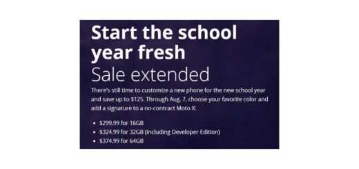 Motorola's Back To School Moto X sale extended through August 7