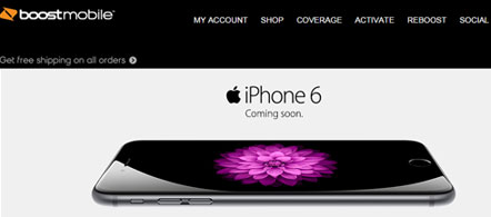 Boost Mobile iPhone 6 and iPhone 6 Plus coming soon