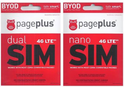 Page Plus 4G LTE available now
