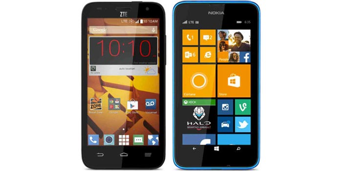 Boost Mobile adds ZTE Speed, Lumia 635 for Boost and Virgin also available now