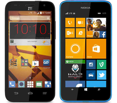 Boost Mobile adds ZTE Speed, Lumia 635 for Boost and Virgin also available now, all for $99.99