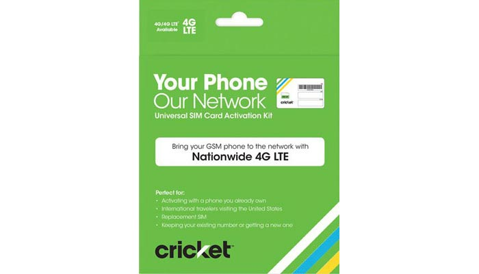 Cricket SIM cards now offered at Walmart